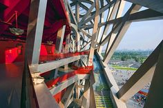 "Beijing ""Bird's Nest"" National Stadium designed by Herzog & de Meuron"