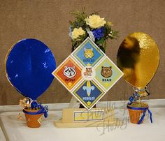 Priscilla's House Of Twinsanity: Boy Scouts, Blue and Gold Banquet