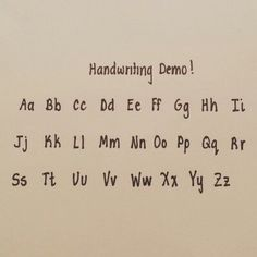 Neat handwriting                                                                                                                                                      More