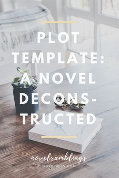 I wrote my first two novels alongside a very detailed plot outline. Here's a new approach to plotting - a free, no-frills-attached plot outline template.