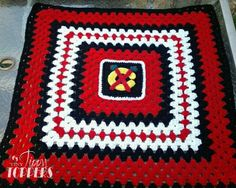 Hey, I found this really awesome Etsy listing at https://www.etsy.com/listing/157429688/handmade-crocheted-chicago-blackhawks