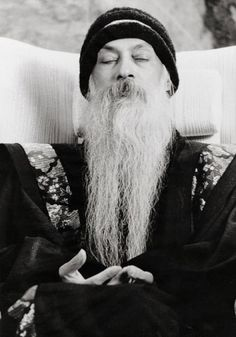 Osho Rajneesh -  The controversial spiritual teacher who has written hundreds of books and made thousands of videos on Meditation, Spirituality and Love.