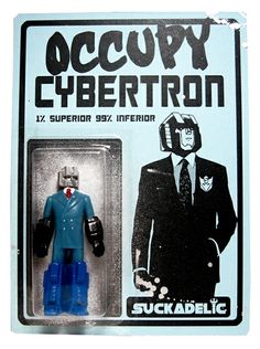 """Toy137 """"Occupy Cybertron - One Percent Bootleg '12"""" by Sucklord from Suckadelic  (2011) #Toy"""