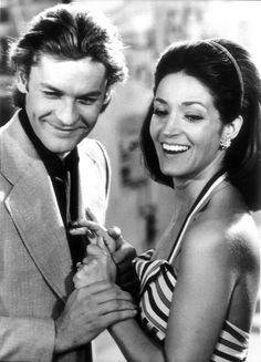 Helmut Berger and Françoise Fabian