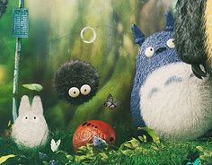 "Check out new work on my @Behance portfolio: ""My Neighbor Totoro"" http://be.net/gallery/35132573/My-Neighbor-Totoro"