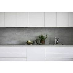 European Home Decor Industrial Kitchen Design, Kitchen Room Design, Home Decor Kitchen, Kitchen Furniture, Kitchen Interior, Home Kitchens, Kitchen Backsplash Inspiration, Kitchen World, Kitchen Queen