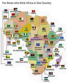 African countries and flags on map Geography Map, World Geography, Africa Flag, Countries And Flags, African Countries Map, Thinking Day, Flags Of The World, African History, Sierra Leone