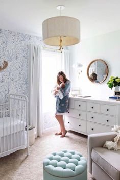 The best gender neutral nursery ideas to inspire you to create the perfect gender neutral nursery. This post is packed with inspiration for a gender neutral color scheme, nursery furniture, rugs, wall art, accent wall ideas and so much more.