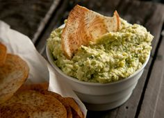 White Bean and Edamame Hummus. Adding 2 of my favorite things together edamame and hummus. mmmmm