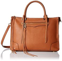 Rebecca Minkoff Regan Satchel Tote Shoulder Bag, Almond, One Size * Find out more about the great product at the image link.