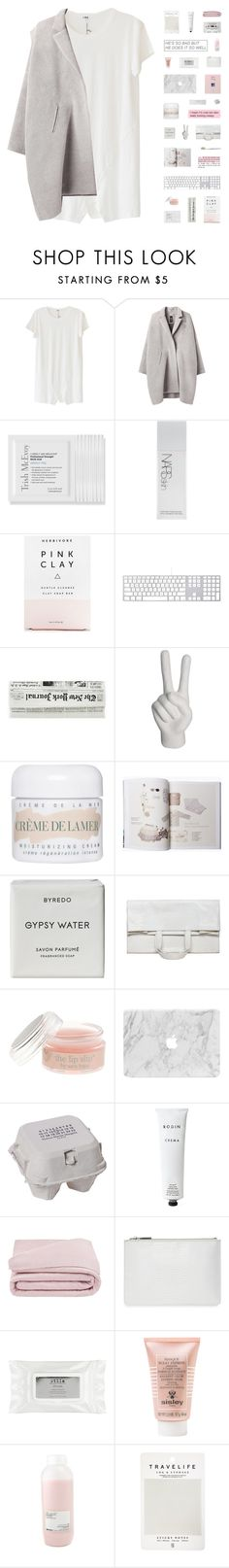 """light me up and maybe i'll let you on it"" by healings ❤ liked on Polyvore featuring LnA, Zero + Maria Cornejo, Trish McEvoy, NARS Cosmetics, Herbivore Botanicals, Noir, La Mer, Byredo, Maison Margiela and J.Crew"