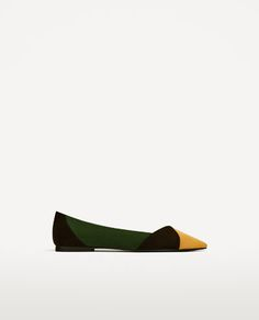 TRI-COLOUR BALLERINAS - Available in more colours