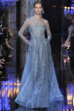 Elie Saab, autumn/winter 2014 couture looks like a dress from a fairy tale!