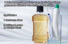 Le vinaigre blanc détartre bien le calcaire sur le robinet, voire même sur votre pommeau de douche, alors oui il est aussi utile pour détartrer vos dents. À essayer sans attendre.   Découvrez l'astuce ici : http://www.comment-economiser.fr/detartrer-dents-maison.html?utm_content=bufferc40f9&utm_medium=social&utm_source=pinterest.com&utm_campaign=buffer