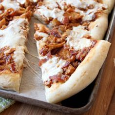 Bacon and Barbecue Chicken Pizza | Baked by Rachel