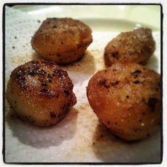 Fondant potatoes. Buttery!