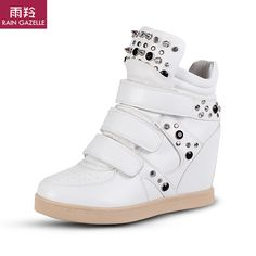 2014 Seconds Kill Special Offer Medium(b,m) Summer Spring Isabel Marant Style Women Wedge Sneakers Shoes Platform Pu Casual Boot $44.90