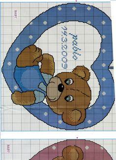 ru / Photo # 104 - for children)) :)) - tastr Baby Cross Stitch Patterns, Cross Stitch For Kids, Cross Stitch Baby, Cross Stitch Charts, Baby Knitting Patterns, Baby Embroidery, Cross Stitch Embroidery, Baby Chart, Cross Stitch Geometric