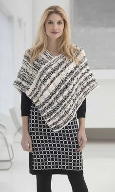 I would really like to make a poncho soon! This is a good beginner pattern for me to start on, and I better start looking for yarn sales on black Friday!