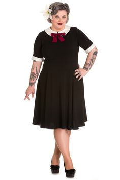 Domino Dollhouse - Plus Size Clothing: Goth Doll Dress