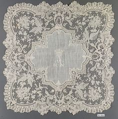 French needle lace,1875-89