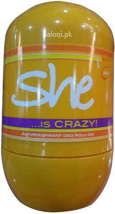 HUNCA SHE IS CRAZY ROLL-ON DEODORANT 40 ML Saloni™ Health