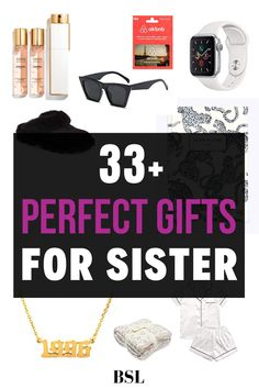 these are such cute gifts for sisters!! i always struggle thinking of ideas for my sisters so this was so helpful