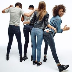 Introducing the New Women's Denim Collection