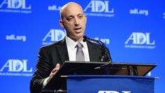 Jonathan A. Greenblatt, the National Director of the Anti-Defamation League, speaking at the ADL Annual Meeting in Los Angeles on November 6, 2014. (Courtesy ADL)