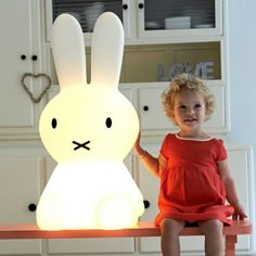 Giant Miffy Lamp for Kids