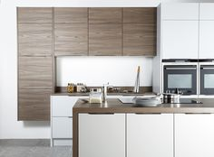 Vintage inspired, the versatile warm, earthy tone of Rose Walnut introduce depth & interest to a kitchen scheme #rosewalnut #kitchendesign #tecaztrends