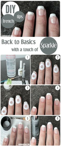 DIY French Manicure | Handmade Jade