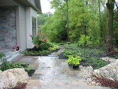 Front Garden - Contact me for landscape construction in the Guelph area.