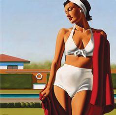 Risultati immagini per Kenton Nelson Photografy Art, Pinturas Art Deco, Tamara Lempicka, Jack Vettriano, Mode Poster, Art Deco Paintings, Art Deco Posters, Portraits, Figure Painting