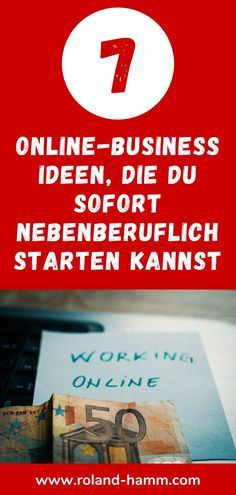 7 coole Online-Business Ideen, mit denen Du sofort im Nebenjob starten kannst. Proof Of Concept, Affiliate Marketing, Make Money On Internet