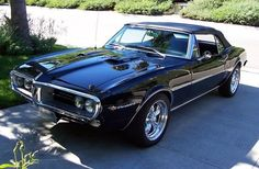 1967 Pontiac Firebird. I've always had a soft spot for the early Firebirds.
