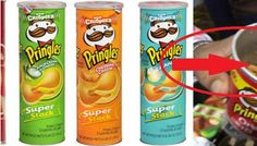 Scam In The Can? Guy Opens A 'Pringles Chips Can' And Finds Something Terrible Pringles Can, Cereal, Chips, Canning, Guys, Breakfast, Soccer, England, Queen