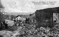 Past Earthquakes in Mugello, Florence, Italy...