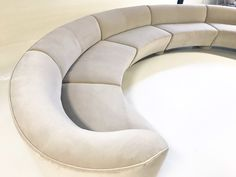 Available for sale from Forsyth, Vladimir Kagan, Cloud Sofa Restored in Loro Piana Grey Velvet (mid Century), Velvet, 29 × 185 × 30 in Restoration Hardware Cloud, Leather Modular Sofa, Round Couch, Curved Sofa, Vintage Chairs, Vintage Furniture, Classic Sofa, Bedroom Wardrobe, Living Room Sofa