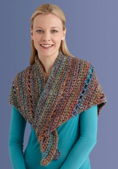@Sarah Foster this might be a good pattern to try out while you're learning. Beginner's Triangle Shawl