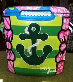 can someone PLEASE paint me a personal size cooler somewhat like this!?!?! ill pay you back for the cooler!!!!!