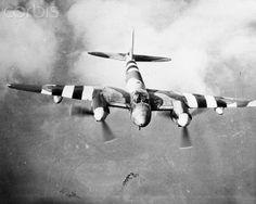 De Havilland Mosquito in D-Day Markings