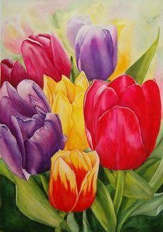 Charlene M. McGill — Brilliant Blooms (422×600)