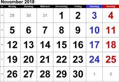 kalender november 2018 indonesia
