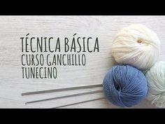 http://www.lanasyovillos.com Primera parte del curso básico de crochet tunecino, la técnica básica Encuentra muchos patrones de crochet en http://www.lanasyo...
