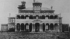 The Duntryleague country club, then the residence of Mr James Dalton, 1899. Photo:  The Collections of Central West Libraries.