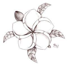 Koi S Plumeria Turtle By Mistyz23 On Deviantart - Free Download Tattoo #12208 Koi S Plumeria Turtle By Mistyz23 On Deviantart With Resolution 400x387 Pixel | WakTattoos.com