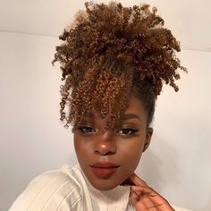 Dyed Natural Hair, Pelo Natural, Natural Hair Tips, Dyed Hair, Natural Hair Styles, Color On Natural Hair, Natural Afro Hairstyles, Protective Hairstyles, Natural Hair Inspiration