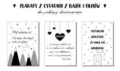 Plakaty z cytatami z bajek do druku - ARCHISTACJA.PL