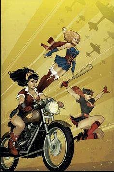 DC Comics lança capas retro incriveis de seus personagens